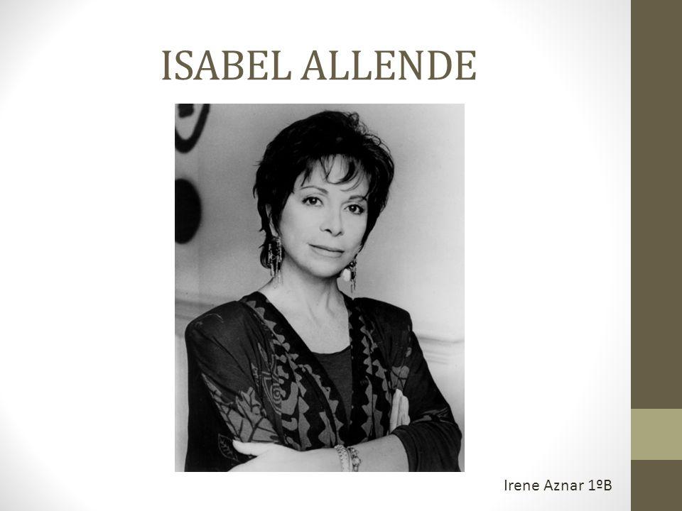 ISABEL ALLENDE Irene Aznar 1ºB