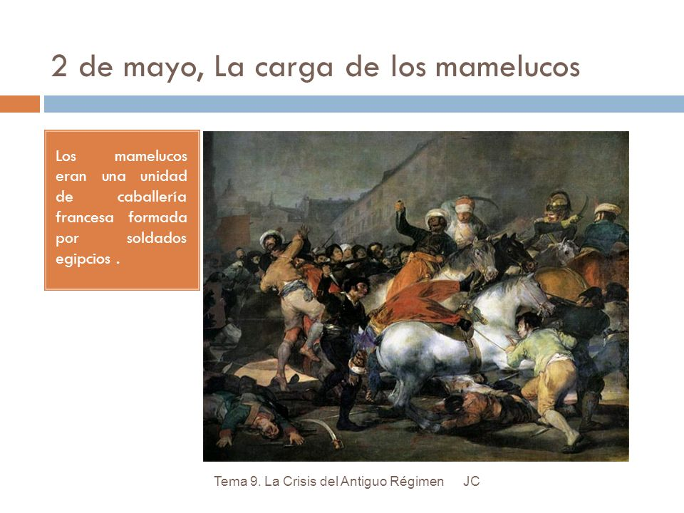 2 de mayo, La carga de los mamelucos