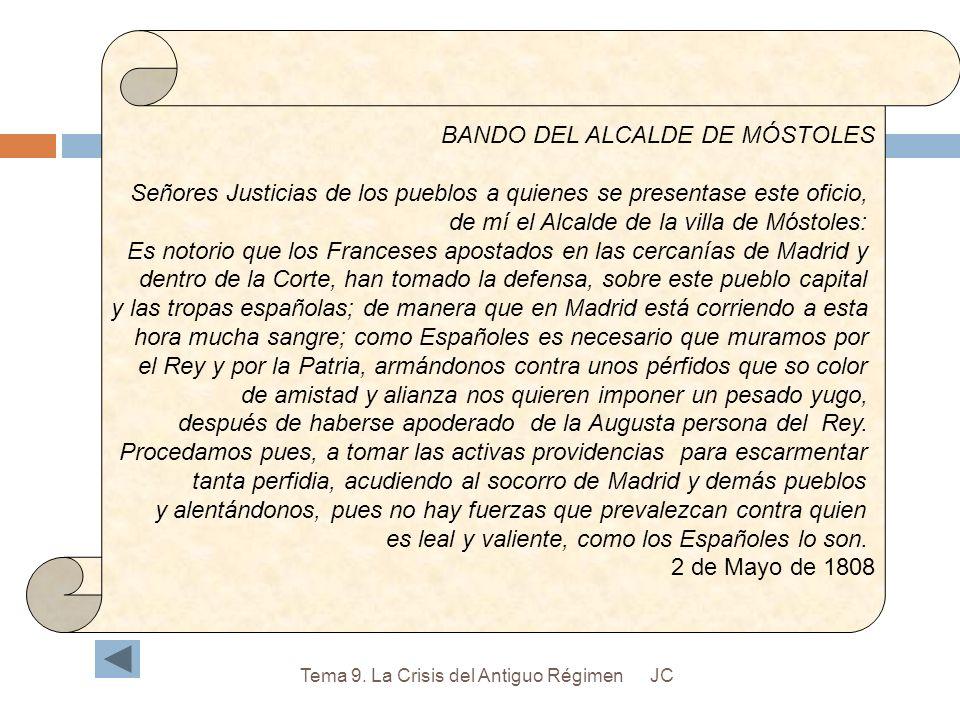 BANDO DEL ALCALDE DE MÓSTOLES