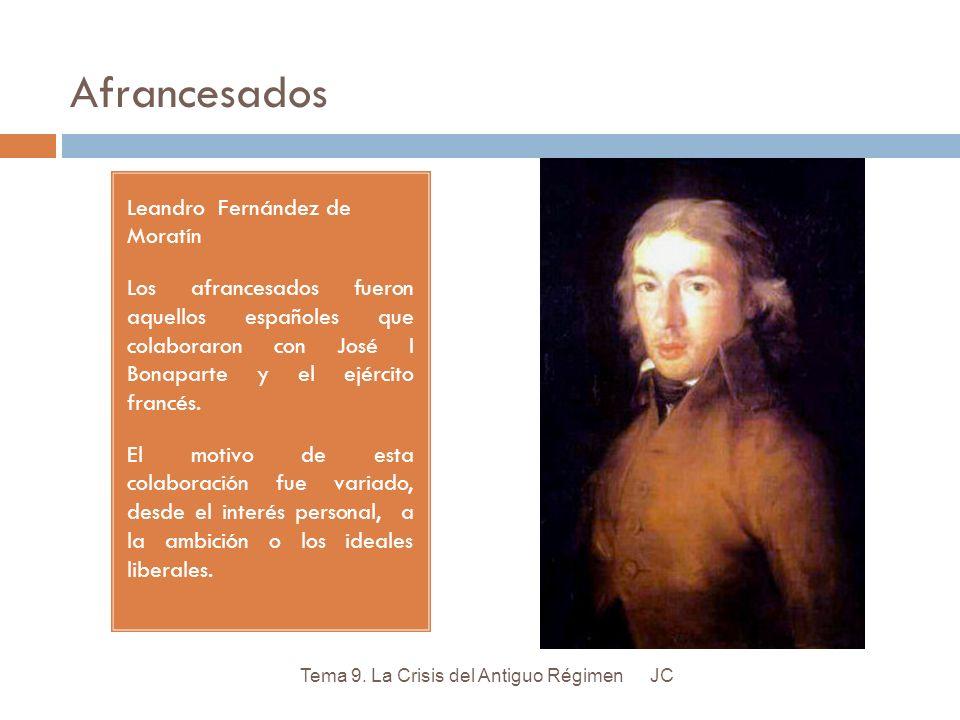 Afrancesados Leandro Fernández de Moratín