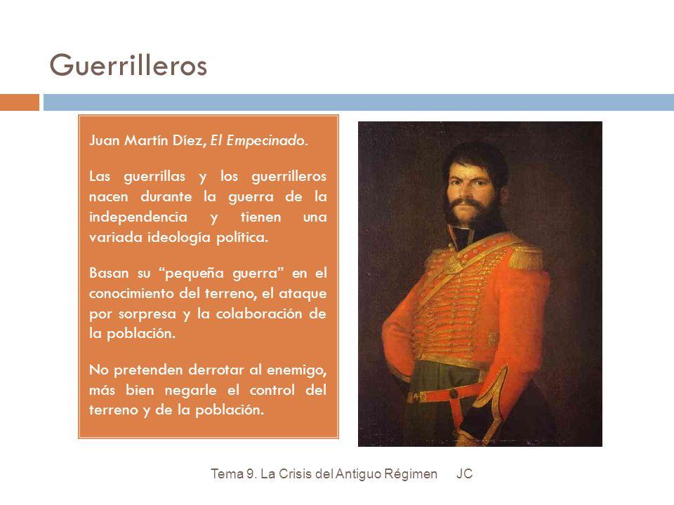 Guerrilleros Juan Martín Díez, El Empecinado.
