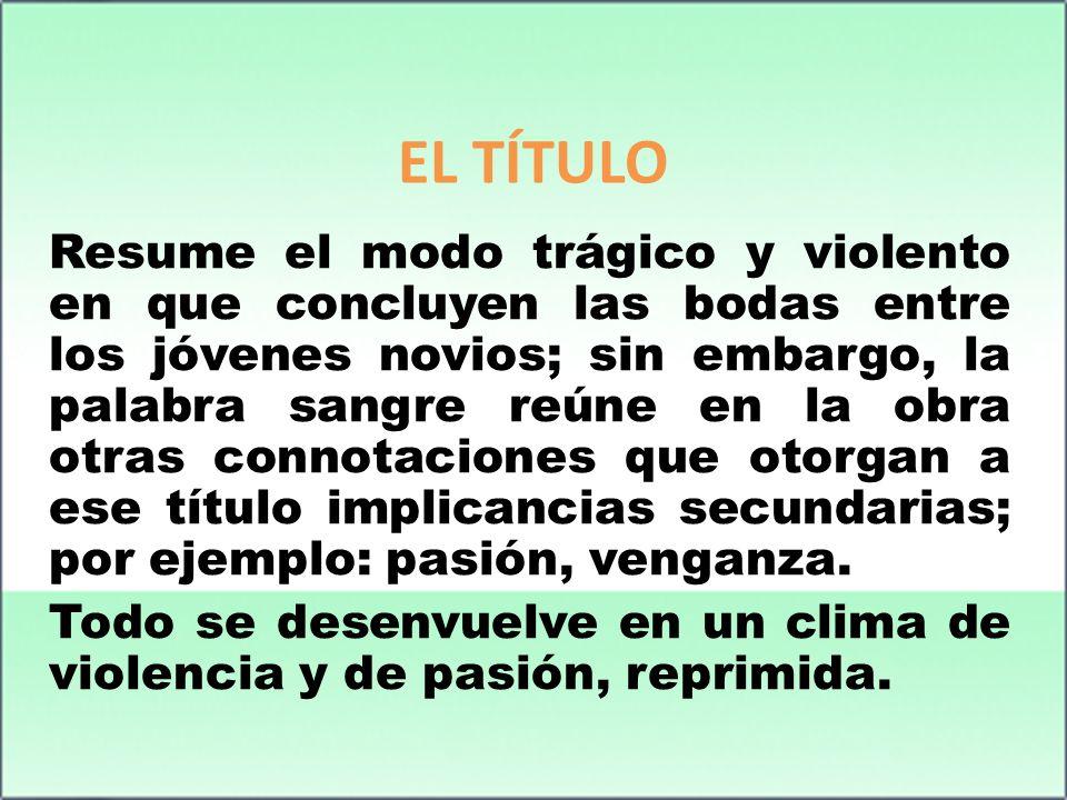 EL TÍTULO