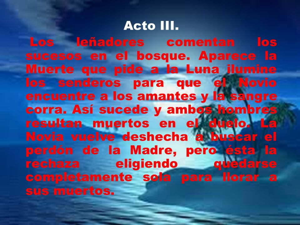 Acto III.