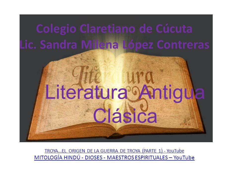 Literatura Antigua Clásica