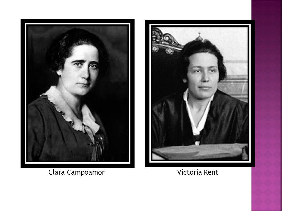 Clara Campoamor Victoria Kent