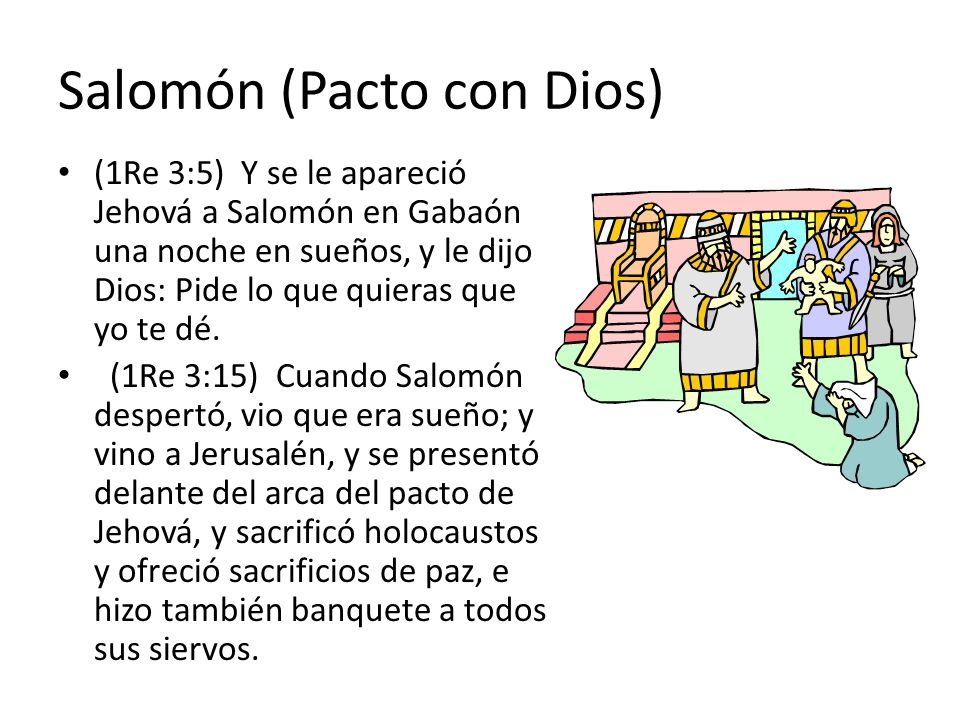 Salomón (Pacto con Dios)