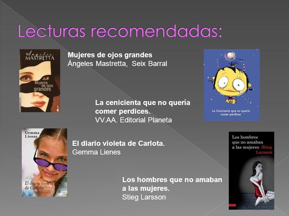 Lecturas recomendadas: