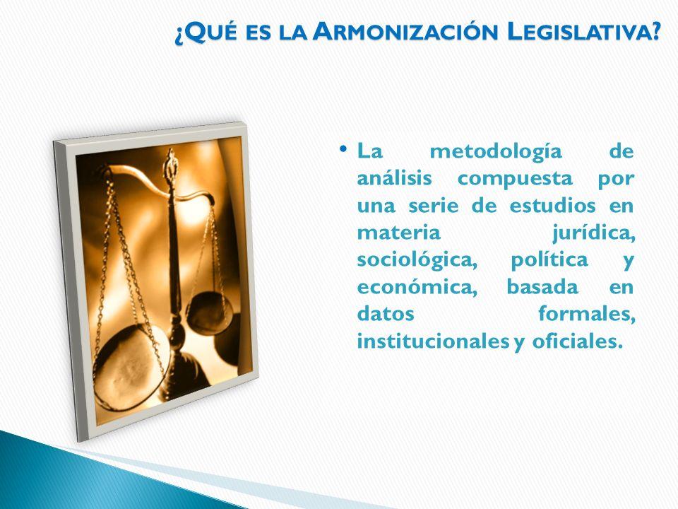 ¿Qué es la Armonización Legislativa