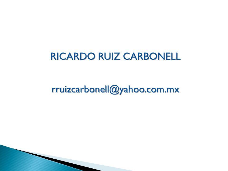 RICARDO RUIZ CARBONELL