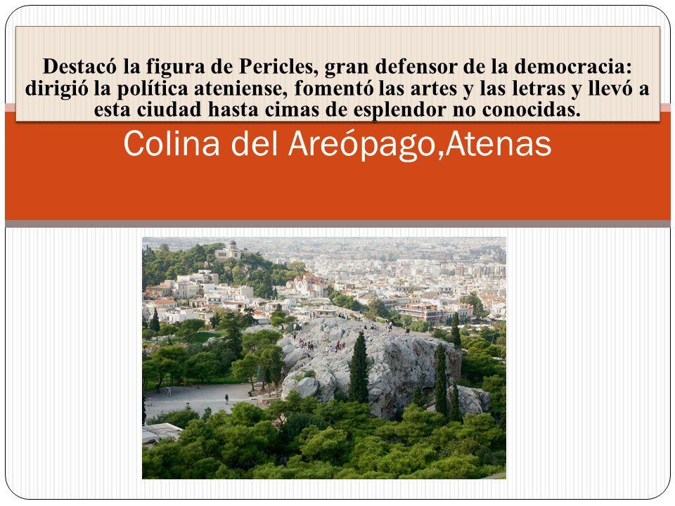 Colina del Areópago,Atenas