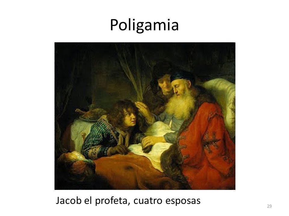 Poligamia Jacob el profeta, cuatro esposas