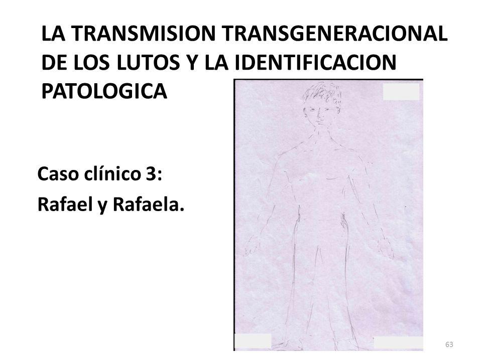 LA TRANSMISION TRANSGENERACIONAL DE LOS LUTOS Y LA IDENTIFICACION PATOLOGICA