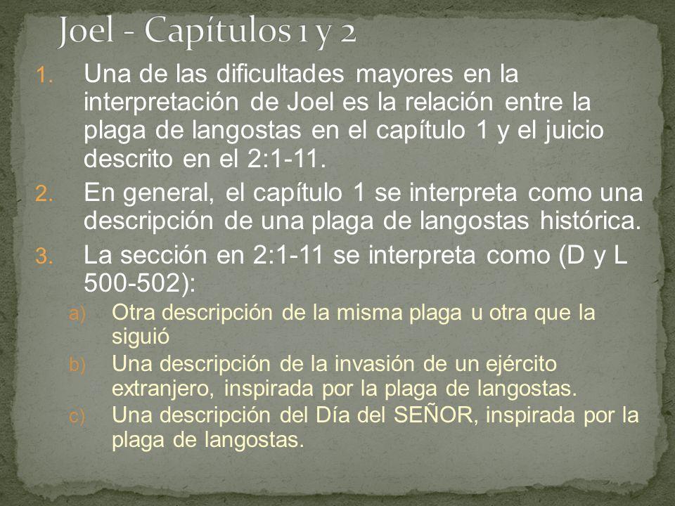 Joel - Capítulos 1 y 2