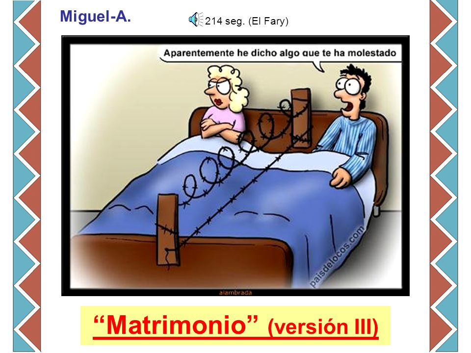 Matrimonio (versión III)