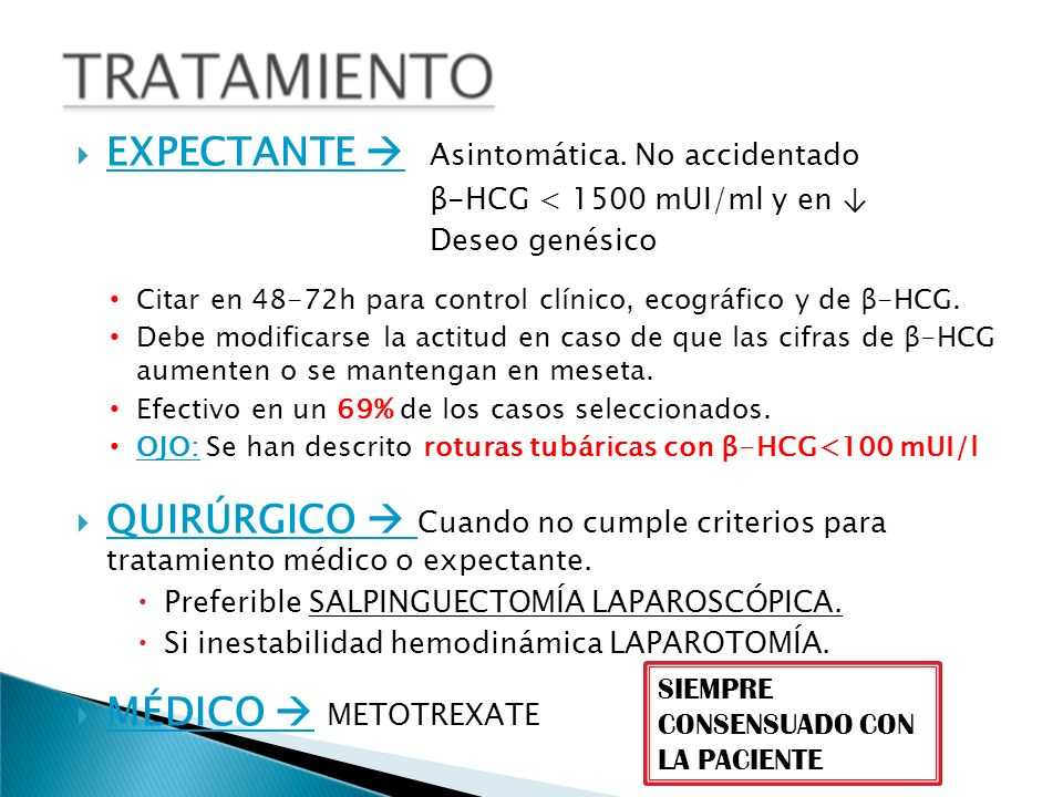 EXPECTANTE  Asintomática. No accidentado