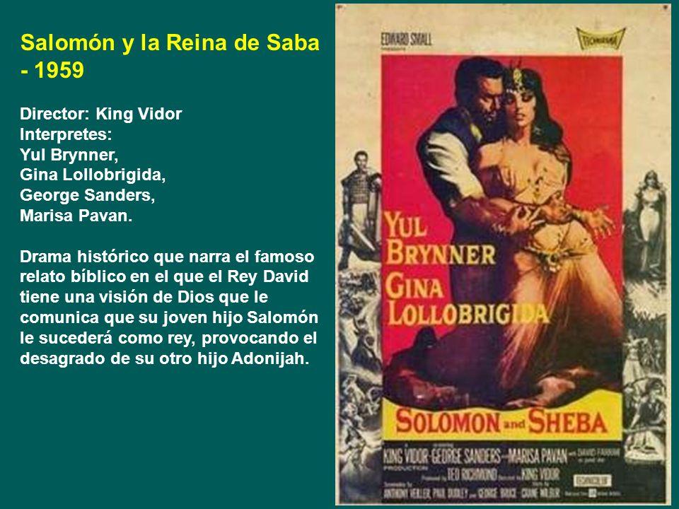 Salomón y la Reina de Saba - 1959