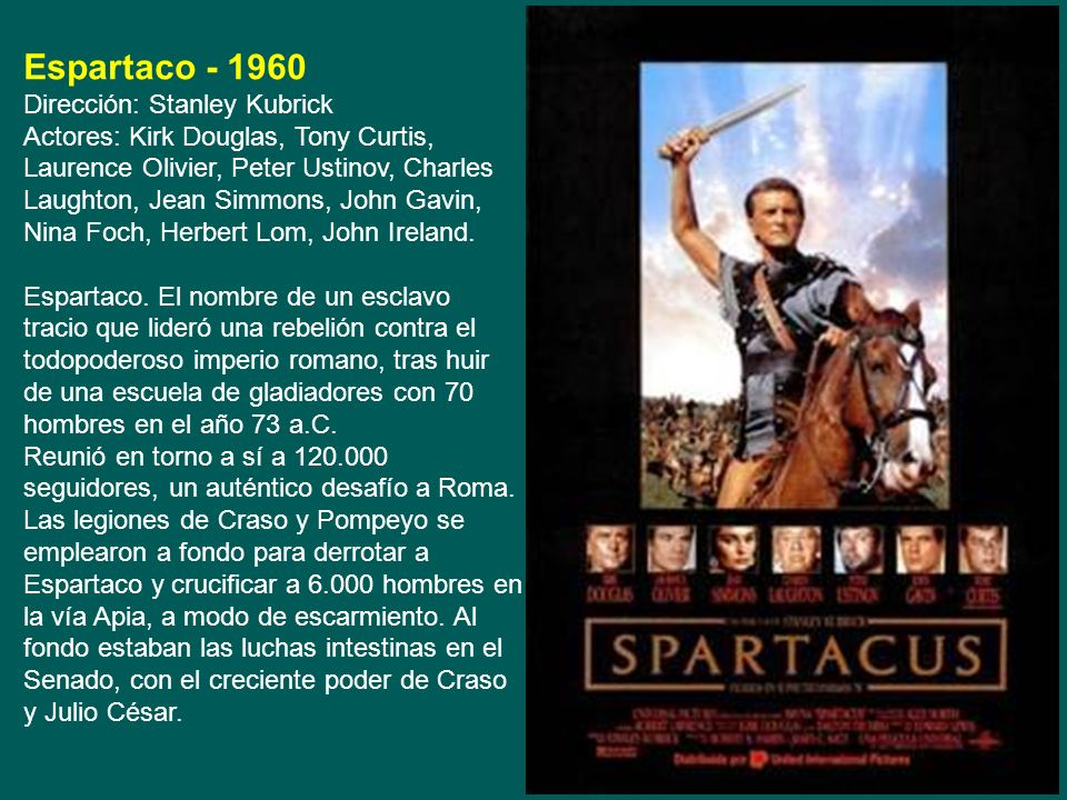 Espartaco - 1960