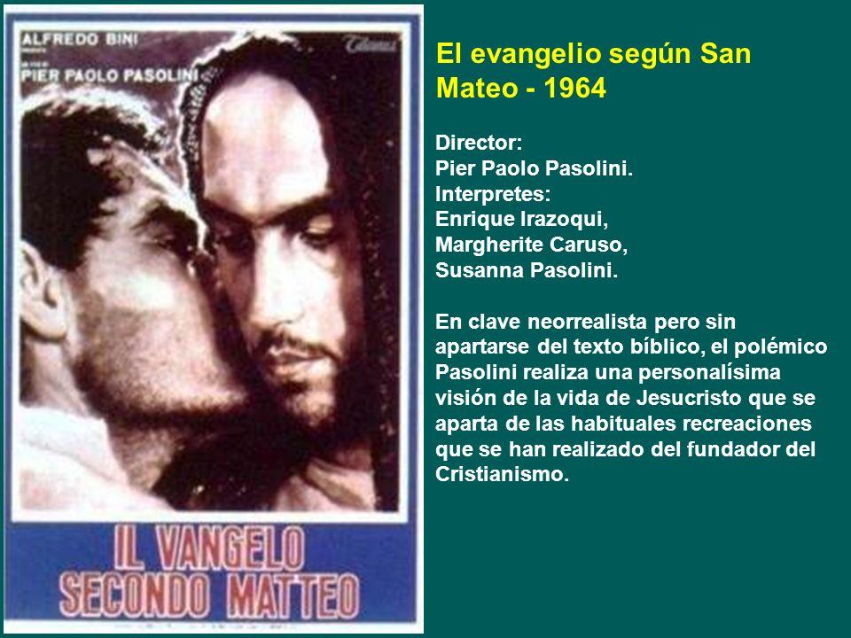El evangelio según San Mateo - 1964