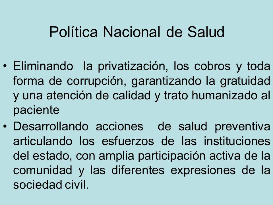 Política Nacional de Salud