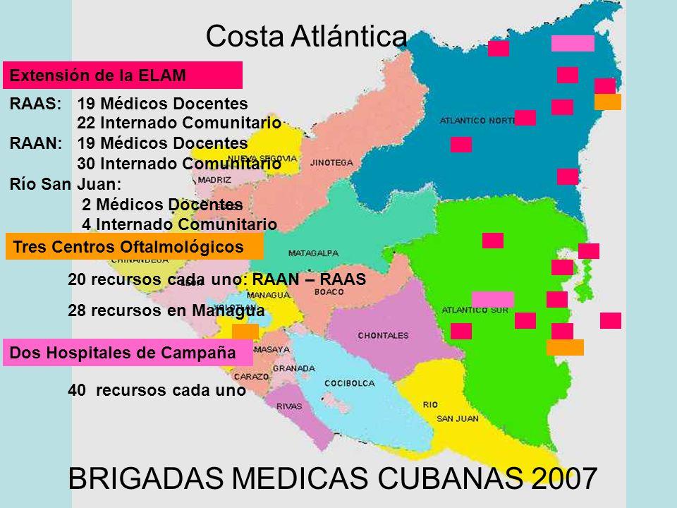 BRIGADAS MEDICAS CUBANAS 2007