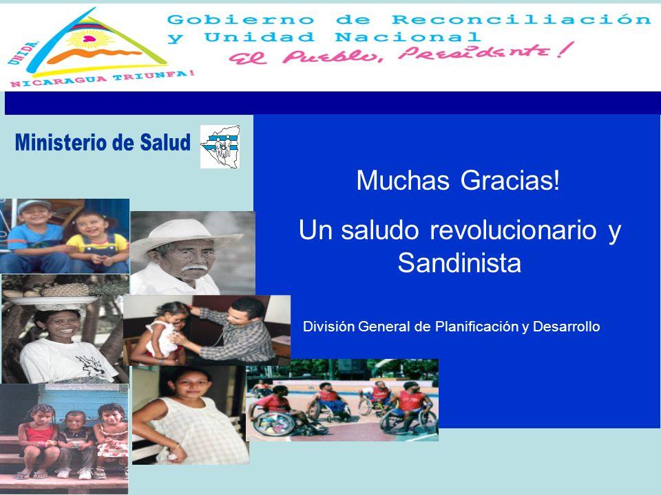 Un saludo revolucionario y Sandinista