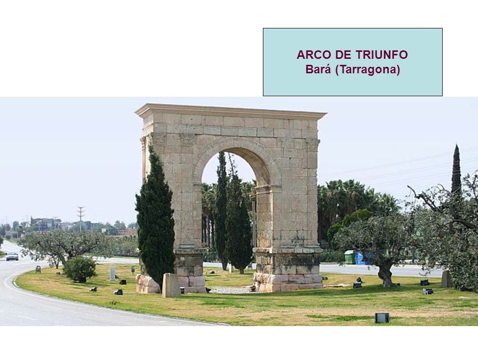 ARCO DE TRIUNFO Bará (Tarragona)