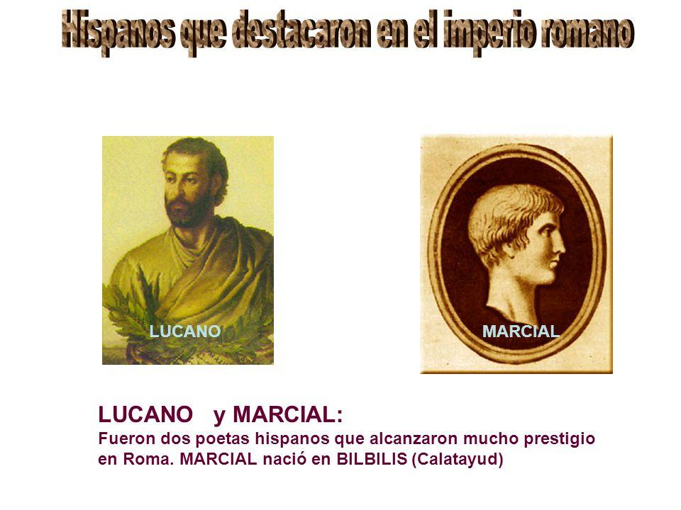 Hispanos que destacaron en el imperio romano