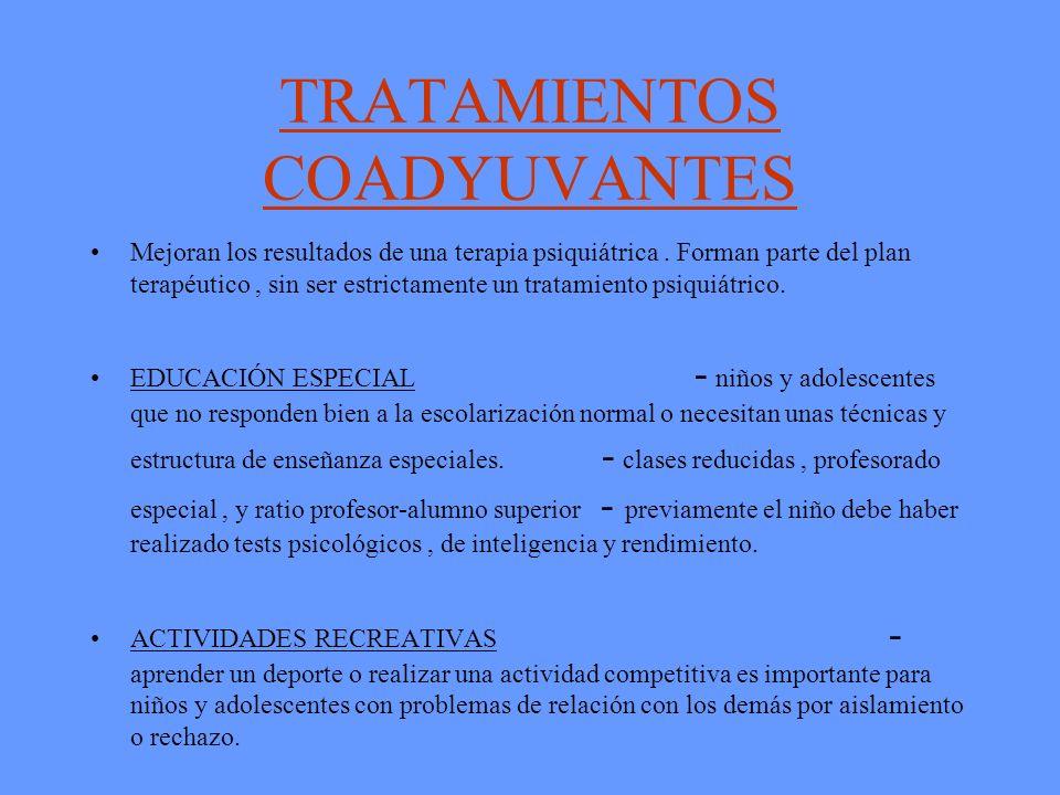 TRATAMIENTOS COADYUVANTES
