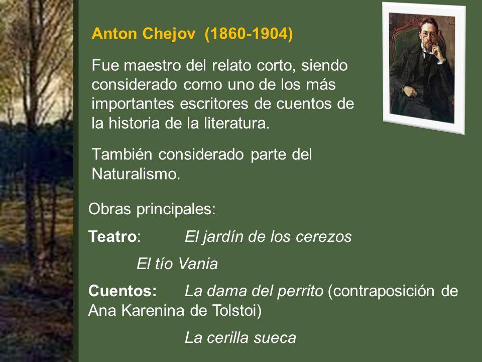 Anton Chejov (1860-1904)