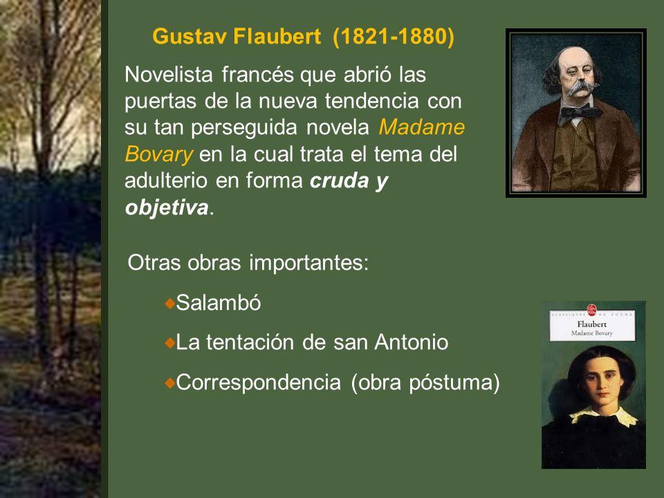 Gustav Flaubert (1821-1880)