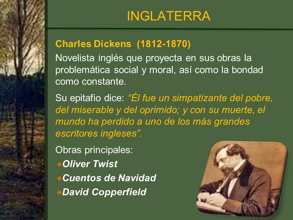 INGLATERRA Charles Dickens (1812-1870)
