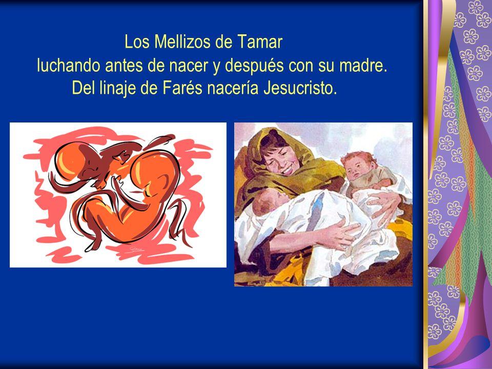 Los Mellizos de Tamar luchando antes de nacer y después con su madre