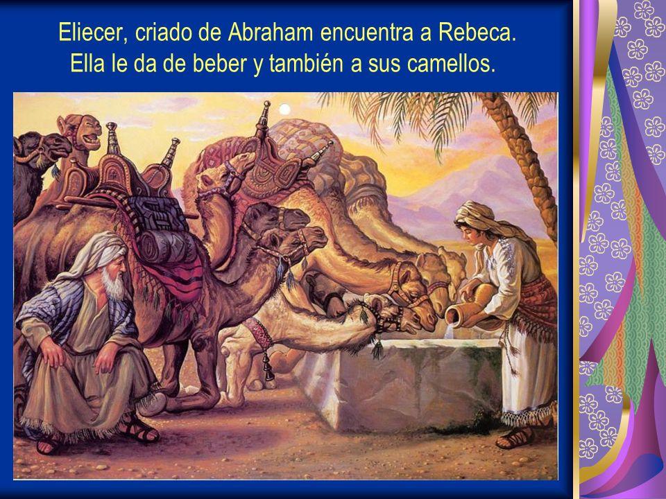 Eliecer, criado de Abraham encuentra a Rebeca
