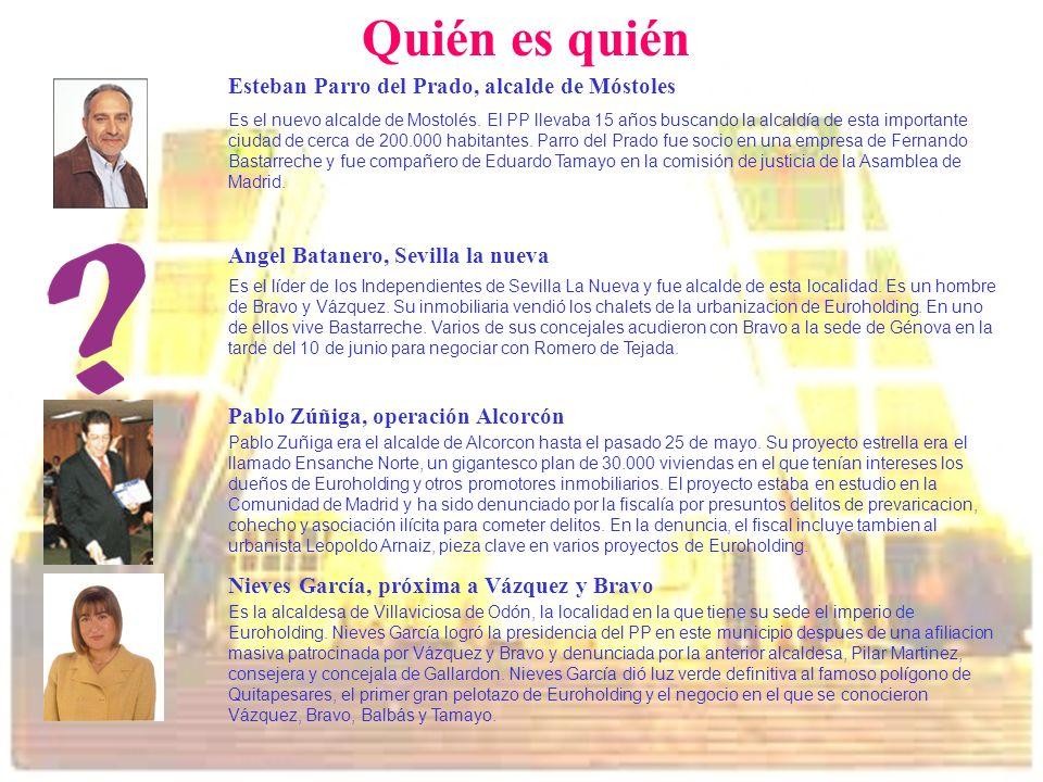 Quién es quién Esteban Parro del Prado, alcalde de Móstoles