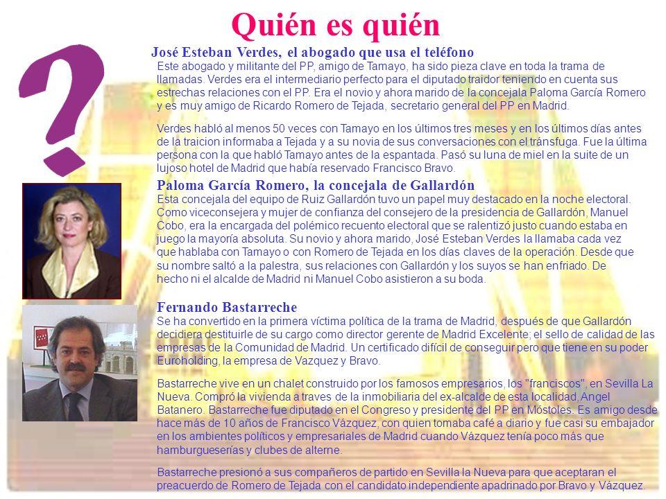 Quién es quién José Esteban Verdes, el abogado que usa el teléfono