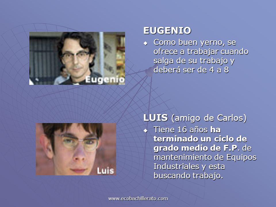 EUGENIO LUIS (amigo de Carlos)