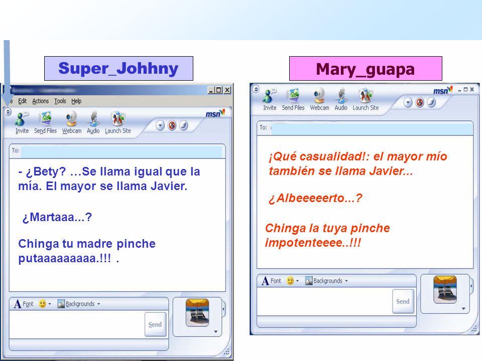 ¡Qué casualidad!: el mayor mío también se llama Javier...