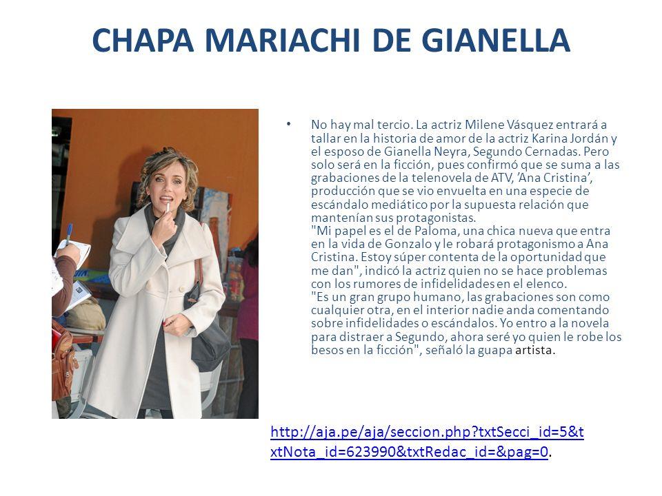 CHAPA MARIACHI DE GIANELLA
