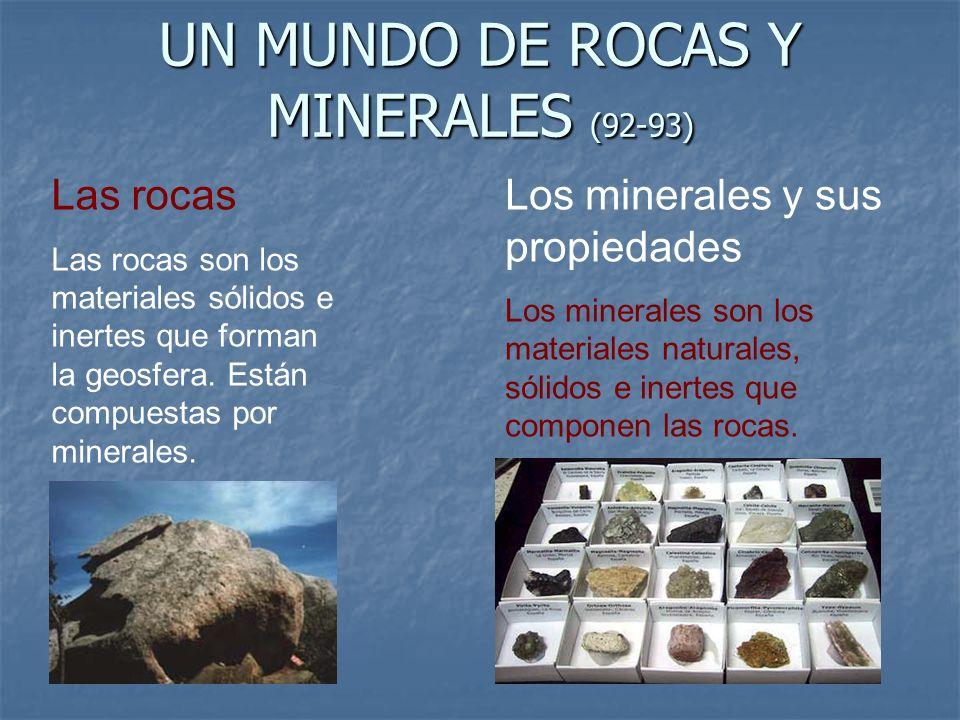 UN MUNDO DE ROCAS Y MINERALES (92-93)
