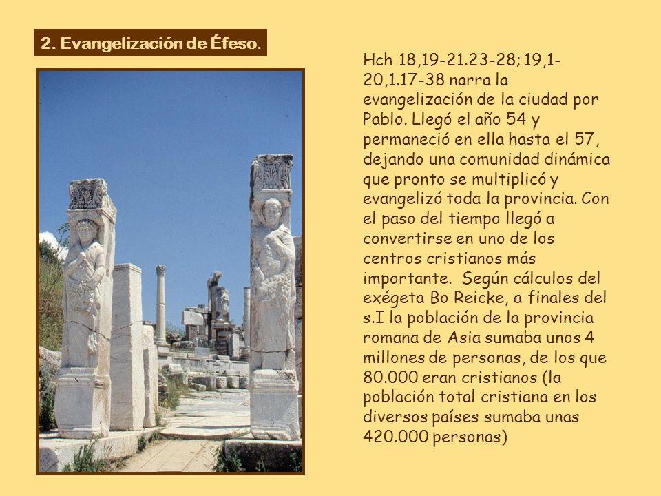 2. Evangelización de Éfeso.