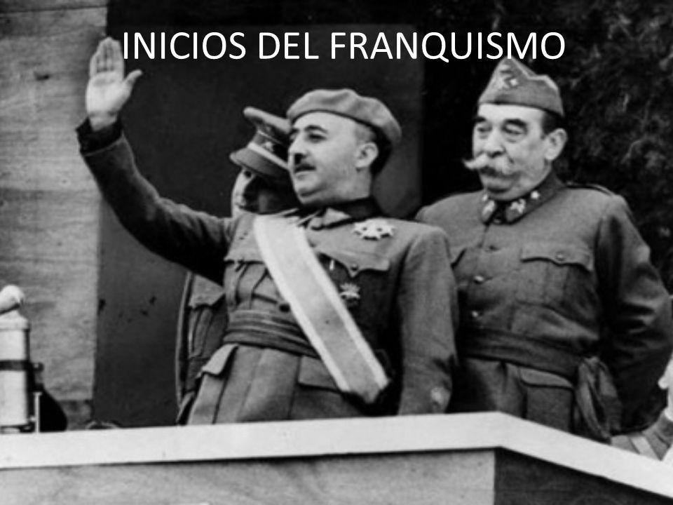 INICIOS DEL FRANQUISMO