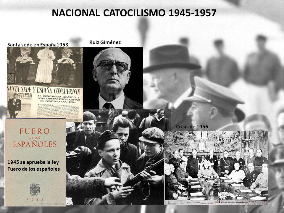 NACIONAL CATOCILISMO 1945-1957