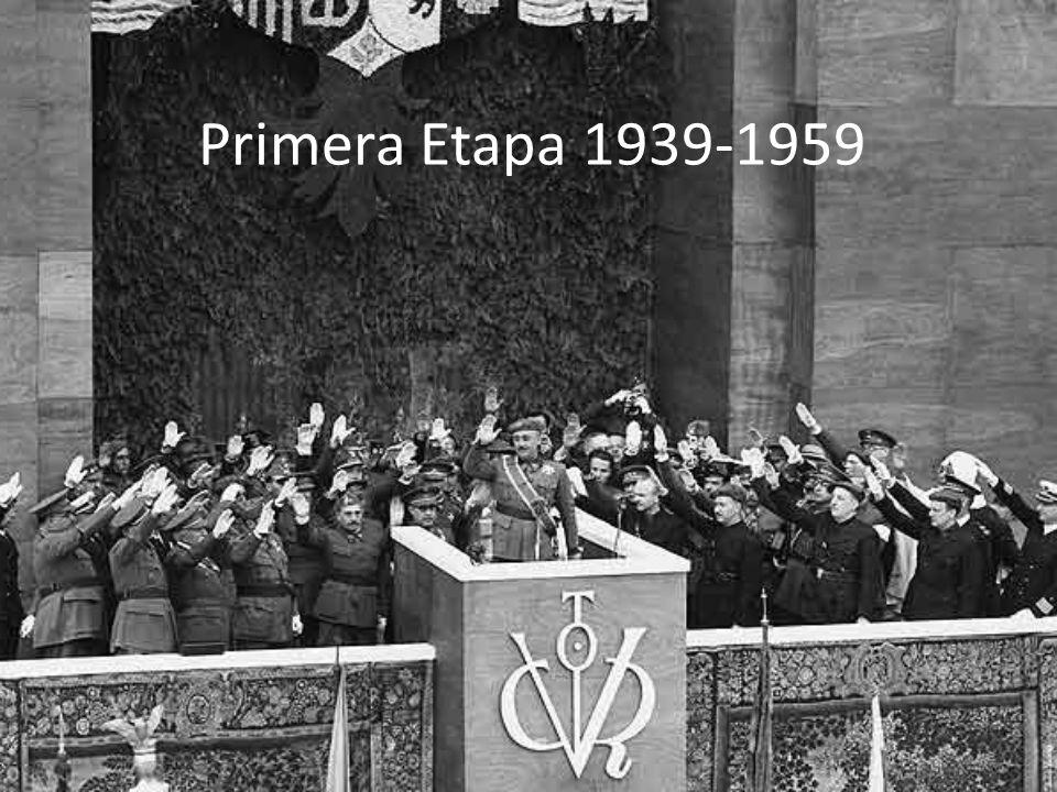 Primera Etapa 1939-1959