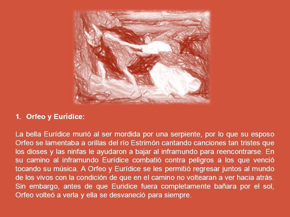Orfeo y Eurídice: