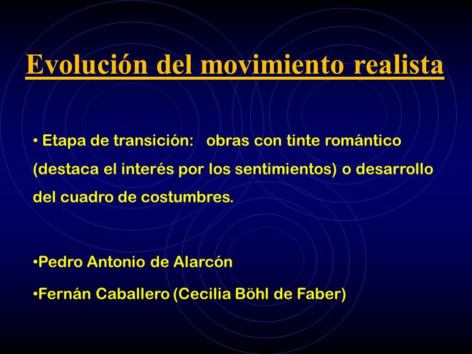 Evolución del movimiento realista