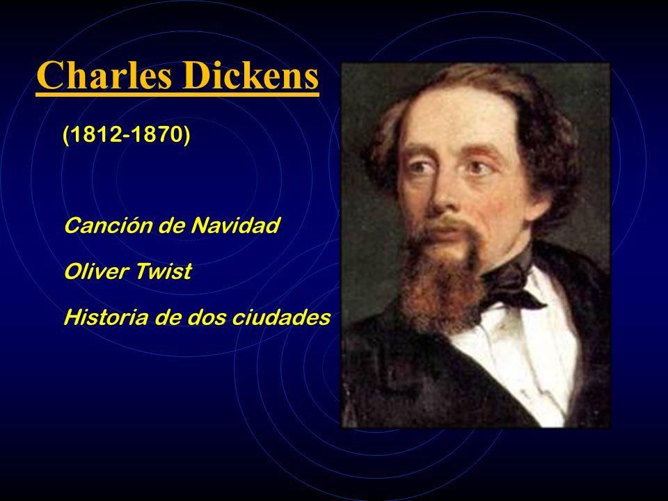 Charles Dickens (1812-1870) Canción de Navidad Oliver Twist