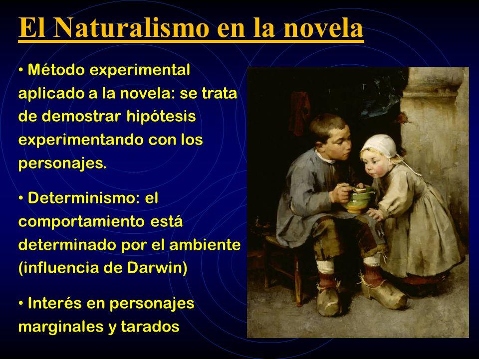El Naturalismo en la novela