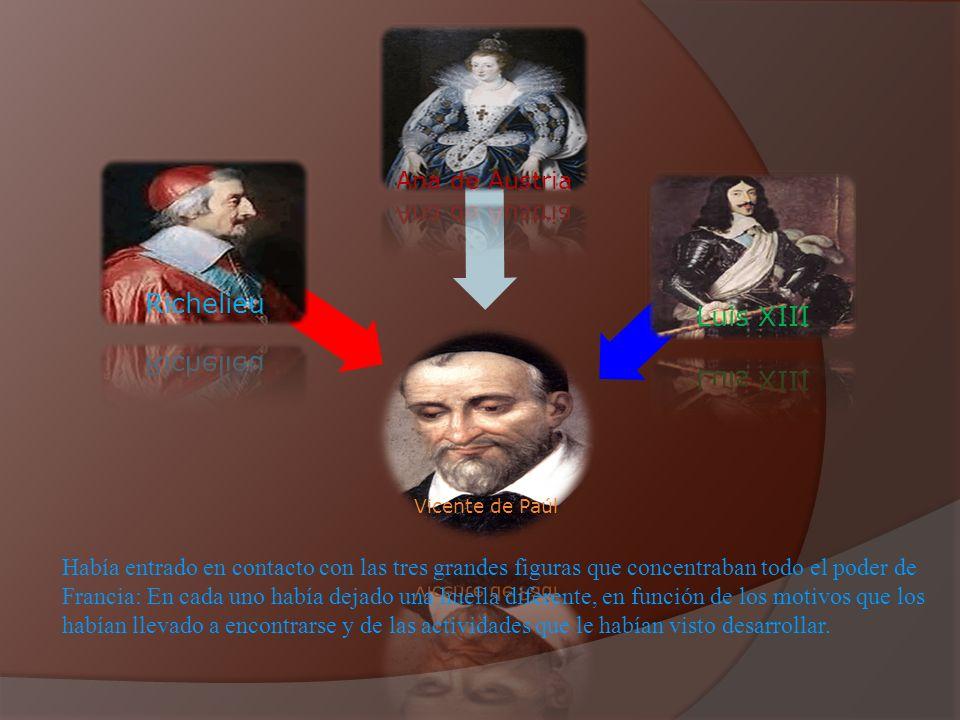 Richelieu Luis XIII Ana de Austria