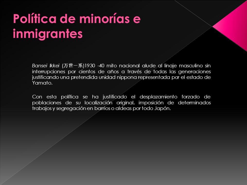 Política de minorías e inmigrantes