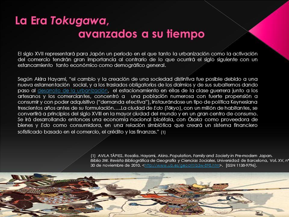 La Era Tokugawa, avanzados a su tiempo